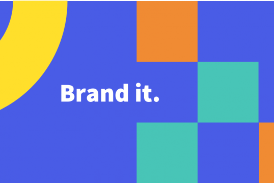 Brand it Home page